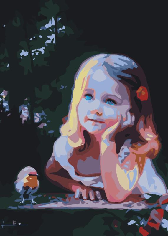 Malowanie po numerach – Marzenie o lataniu